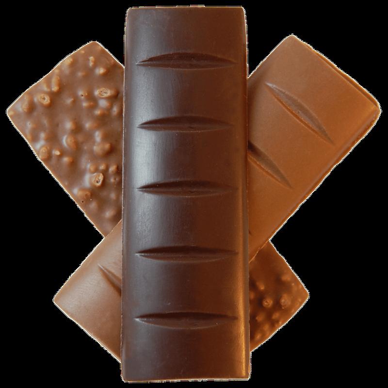 mushroom chocolate bar